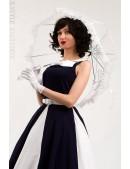 Белый ажурный зонт X02014 (402014) - оригинальная одежда, 2