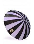 Зонт-трость 24 спицы (сиреневый/черный) (402073) - оригинальная одежда, 2