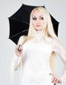 Прогулочный мини-зонтик (402018) - foto