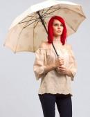 Ажурный зонтик X077 (402077) - 3, 8