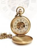 Старинные механические часы Workmans (330038) - foto