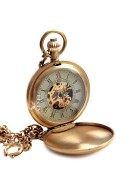 Карманные механические часы в антикварном стиле (330039) - оригинальная одежда, 2