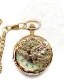 """Карманные часы """"Золотой дракон"""" (330042) - foto"""
