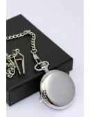 Карманные часы с массивной цепью BS066 (340066) - оригинальная одежда, 2