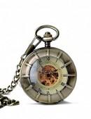 Двусторонние часы в стиле Стимпанк (330025) - оригинальная одежда, 2
