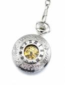 Карманные механические часы с открытым механизмом (330052) - материал, 6