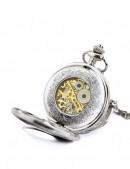 Карманные механические часы с открытым механизмом (330052) - цена, 4