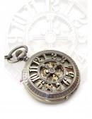 Карманные механические часы Figures (330033) - foto