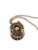 Кулон-часы с птичьей клеткой (350102) - материал, 6