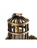 Кулон-часы с птичьей клеткой (350102) - оригинальная одежда, 2