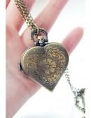Кулон-часы Сердце VTC (350104) - цена, 4