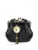 Кулон-часы в подарочной сумочке (350311) - foto
