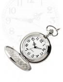 Серебристые часы с красивой гравировкой (340059) - цена, 4