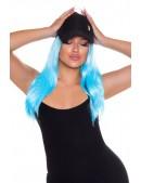 Голубой парик Cosplay Couture (503027) - foto