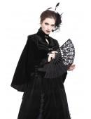 Ажурный черный веер D028 (410028) - оригинальная одежда, 2
