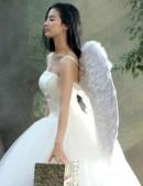 Белые крылья ангела (100 см) (420033) - оригинальная одежда, 2