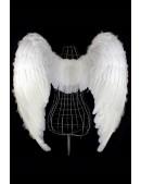 Белые крылья ангела (100 см) L033 (420033) - оригинальная одежда, 2