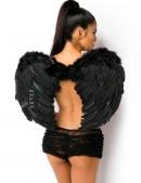 Черные крылья ангела (80 см) (420031) - foto
