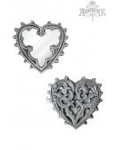 Компактное зеркальце Gothic Heart (SGV38) - foto
