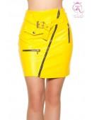 Кожаная юбка с поясом KouCla (107179) - foto