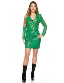 Кожаная юбка в Рок-стиле KC7180 (107180) - цена, 4