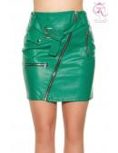 Кожаная юбка в Рок-стиле KC7180 (107180) - foto