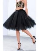 Пышная юбка-пачка миди X7183 (107183) - foto