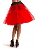 Красный пышный подъюбник X-Style (107154) - оригинальная одежда, 2