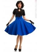 Юбка в стиле 50-х (синий электрик) (107158) - foto