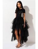 Многослойная пышная юбка-пачка X7201 (107201) - материал, 6