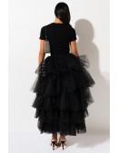 Многослойная пышная юбка-пачка X7201 (107201) - цена, 4