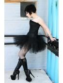 """Короткая """"стоячая"""" юбка-пачка X7204 (107204) - оригинальная одежда, 2"""