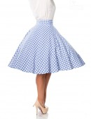 Клетчатая юбка Belsira (107124) - оригинальная одежда, 2