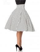 Винтажная юбка с высоким поясом (107132) - оригинальная одежда, 2
