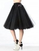 Пышная юбка-пачка миди X138 (107138) - цена, 4