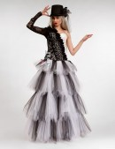 Длинная многослойная пышная юбка X-Style (107143) - цена, 4