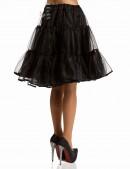Пышный черный подъюбник из органзы X-Style (107146) - оригинальная одежда, 2