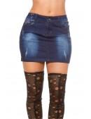 Джинсовая мини-юбка KouCla (107151) - оригинальная одежда, 2