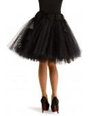 Черный многослойный подъюбник X7157 (107157) - оригинальная одежда, 2
