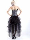 Многослойная пышная асимметричная юбка (107049) - оригинальная одежда, 2