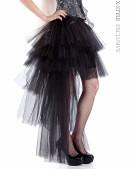 Многослойная пышная асимметричная юбка (107049) - foto