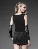 Джинсовая мини-юбка (107095) - оригинальная одежда, 2
