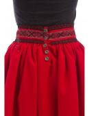Длинная юбка с вышивкой и кружевом (107118) - материал, 6