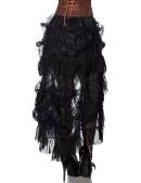 Кружевная юбка со шлейфом X122 (107122) - оригинальная одежда, 2