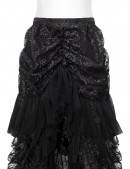 Кружевная юбка со шлейфом X122 (107122) - цена, 4