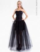 Длинная юбка-пачка (107048) - foto