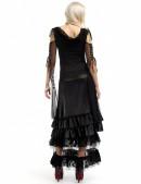 Длинная юбка с прозрачным низом X-Style (107006) - оригинальная одежда, 2