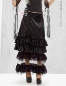 Длинная юбка с прозрачным низом X-Style (107006) - цена, 4