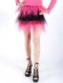 Двухцветная юбка-пачка (107047) - foto