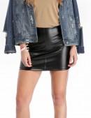 Кожаная мини-юбка XT Collection (107113) - foto